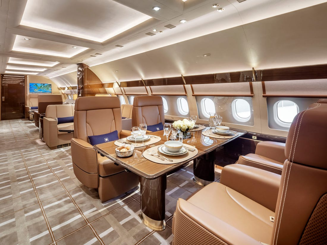 Luxury Private Plane & Custom Jet Design Trends | Voyage