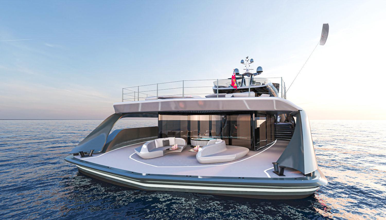 The bold new Futura Vripack fossil-free hybrid superyacht