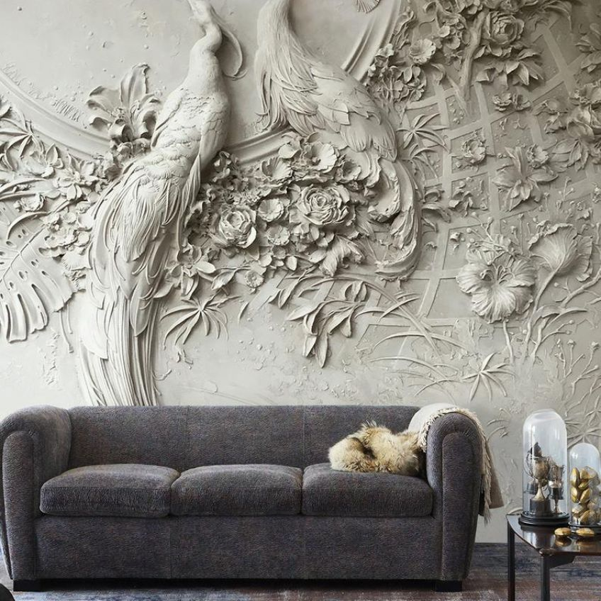 Wall murals are making a comeback in luxury home interior design as skilled artists are being tapped by top interior designers to create one of kind spaces