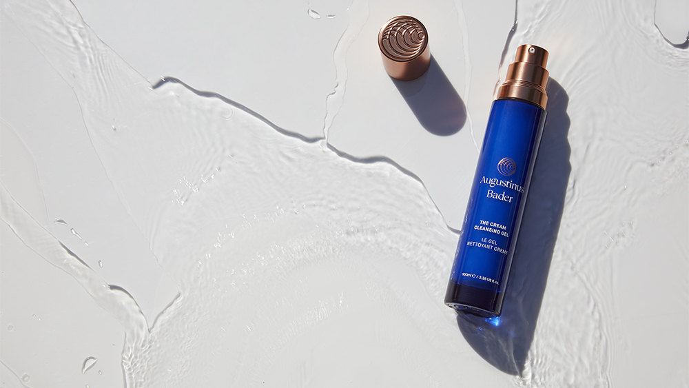 Luxury beauty products such as he Augustinus Bader skin care cream activate the body's own stem cells to rejuvenate the skin and help with anti-aging