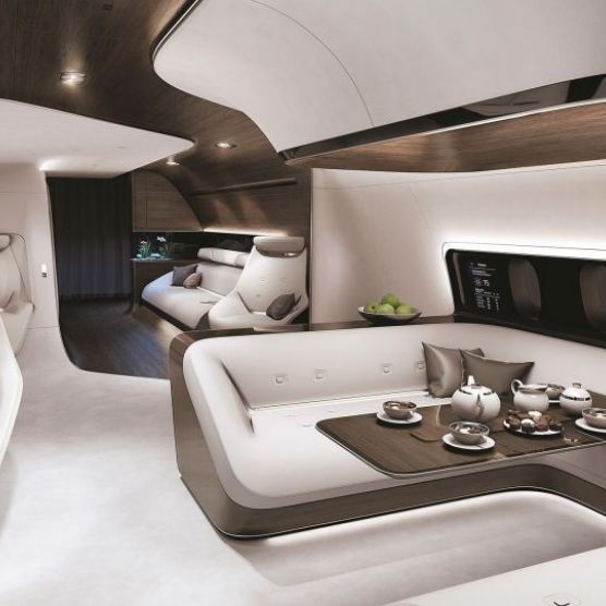 Luxury Private Plane Design